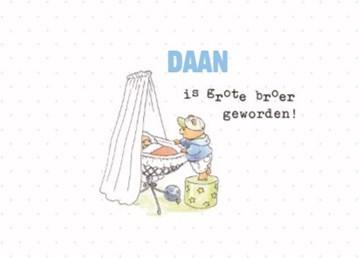 Bobbi Beer kaart - bobbi-beer-broertje-geboren