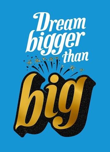Succes / Goed gedaan kaart - big-dreams