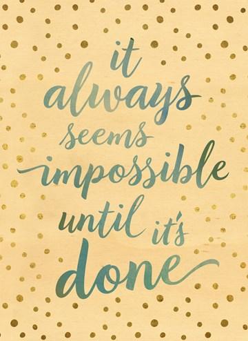 succes goed gedaan kaart - Niet-onmogelijk