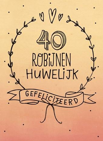 40 jaar getrouwd robijnen huwelijk Kaarten   huwelijk   40 jaar robijn | Hallmark 40 jaar getrouwd robijnen huwelijk