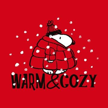 - Kerstkaart-Snoopy-warm-en-cozy