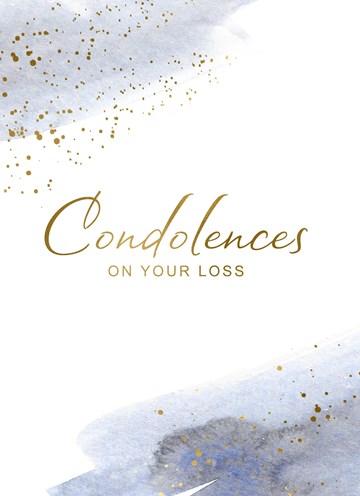 Deelnemingskaart - Rouwkaart - condolences-with-your-loss