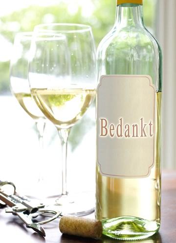 Zakelijk bedankt - toast-met-witte-wijn