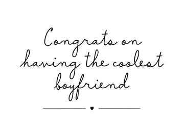 Liefde kaart - Vriendschapskaart - the-coolest-boyfriend