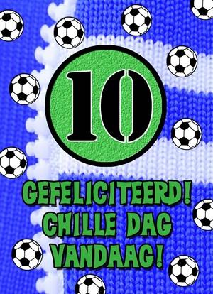 gefeliciteerd 10 jaar Gefeliciteerd 10 Jaar Voetbal   ARCHIDEV gefeliciteerd 10 jaar