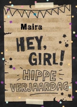 Verjaardagskaart meiden - verjaardag-tiener-meisje-girl