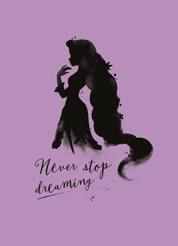 Disney kaart - Disney-never-stop-dreaming