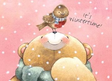 Winterkarte - Winter Grußkarte  - 287DC7D5-8FC3-4771-9A88-BDE5C9181FC3