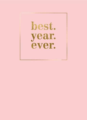 nieuwjaarskaart-roze-best-year-ever