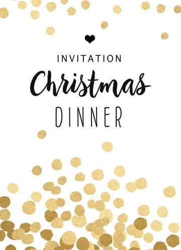 Kerstkaart - Kerstkaart-invitation-christmas-dinner