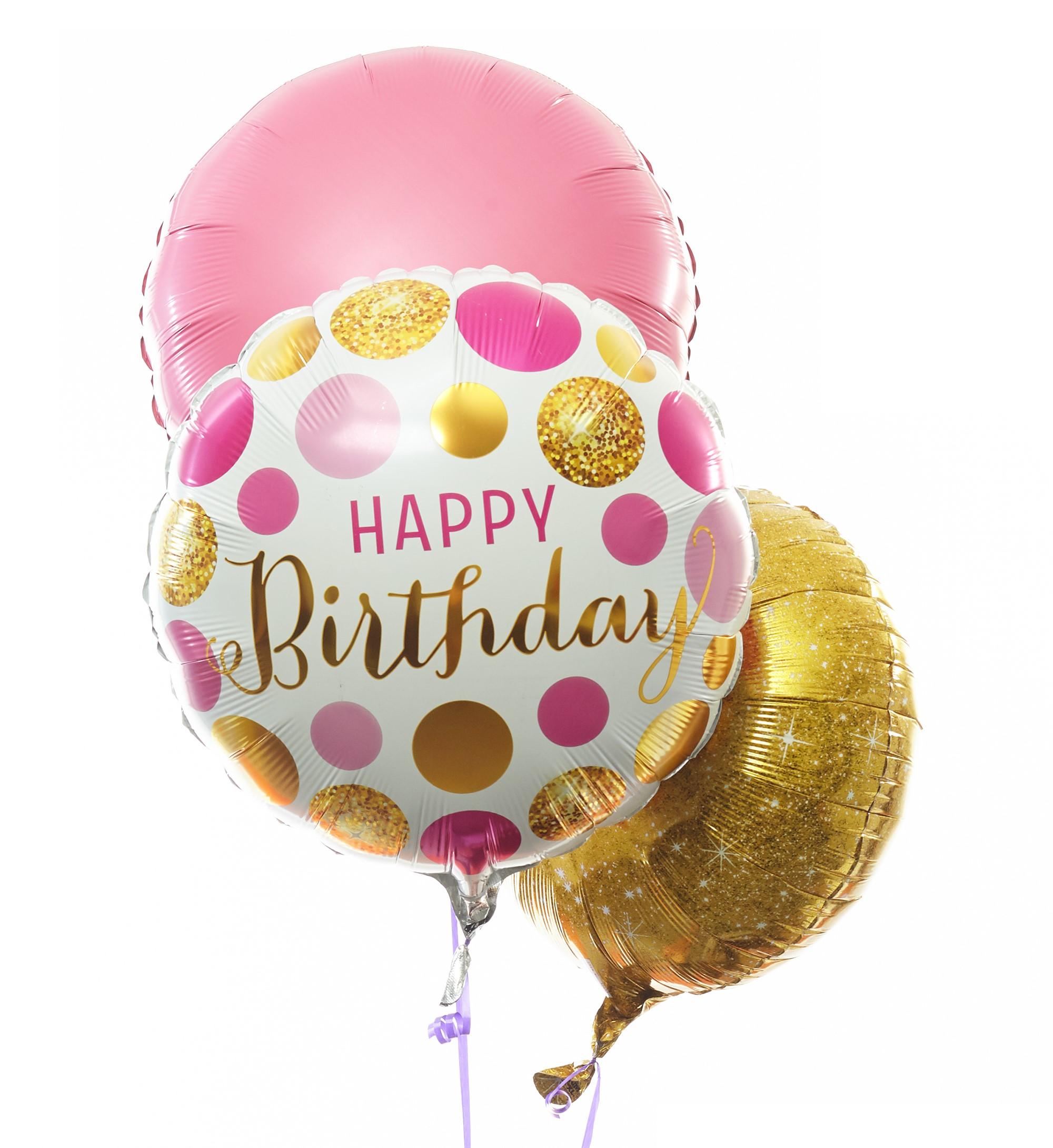 Verjaardag Glitter.Ballonnentros Verjaardag Glitter