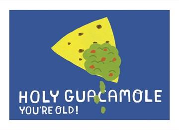 verjaardagskaart man - holy-guacamole