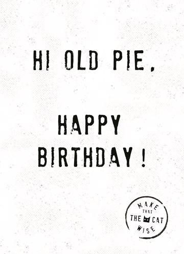- hi-old-pie