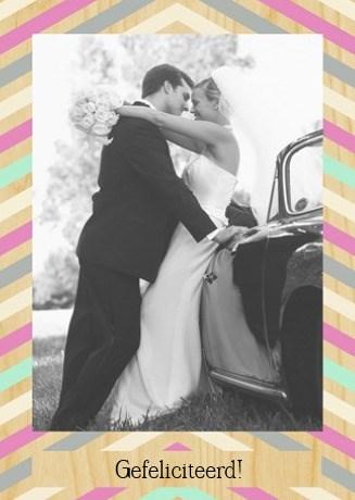 - fotokaart-huwelijk-staand-gestreepte-rand