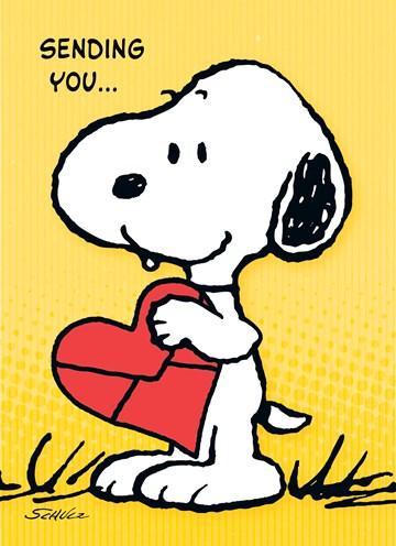 Snoopy kaart - BF533ECF-2F52-4213-A84C-6E6B1739D4B5