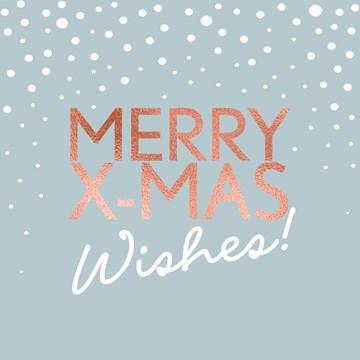 - Kerstkaart-stijlvol-Merry-Xmas-wishes-koper-tekst