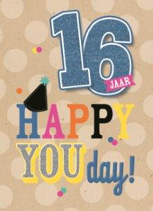 16 jaar verjaardag Verjaardagswensen 16 Jaar   ARCHIDEV 16 jaar verjaardag
