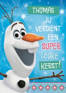 Gefeliciteerd Frozen