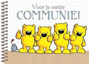 gefeliciteerd met je eerste communie