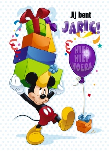 Verjaardagskaart 3 Jaar