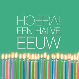 Zeer Verjaardagswensen 50 Jaar VU36   Belbin.Info @AQ29