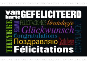 gefeliciteerd in andere talen Gefeliciteerd Met Je Verjaardag Verschillende Talen | Voormijnkleine gefeliciteerd in andere talen