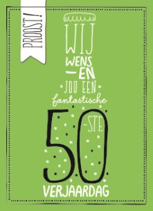 Top Favoriete Verjaardagswensen 50 Jaar Man #EMP83 - AgnesWaMu &LS29