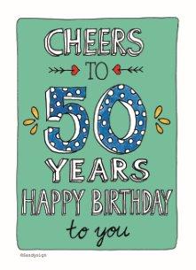kaart 50 jaar abraham Verjaardagskaart 50 jaar voor Abraham en Sarah | Hallmark kaart 50 jaar abraham